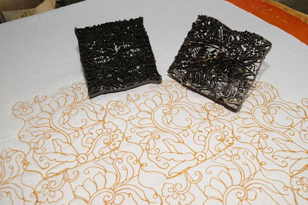 Traditional Hand Blockprinted Batik